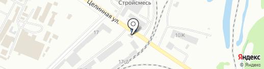 Попутчик на карте Хабаровска