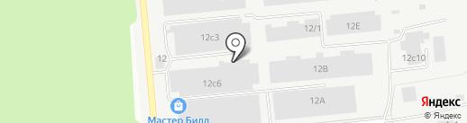 Контур Будущего на карте Хабаровска
