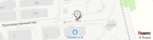 ЮПИТЕР на карте Хабаровска