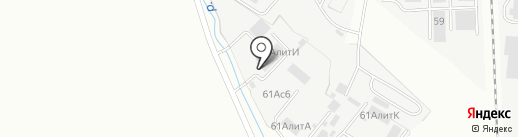 Стройинвест на карте Хабаровска