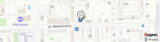 Киоск узбекской кухни на карте Хабаровска