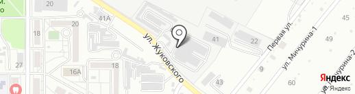 Аверон-ДВ на карте Хабаровска