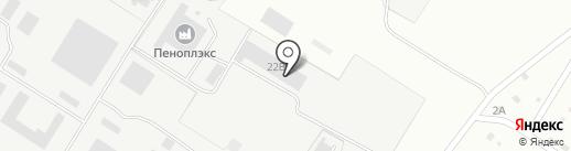 ПЕНОПЛЭКС СПБ на карте Хабаровска
