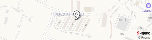 Дуэт на карте Мирного