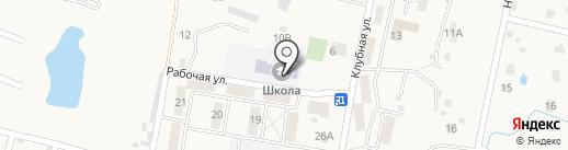 Средняя общеобразовательная школа на карте Мирного