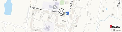 Олевин на карте Мирного