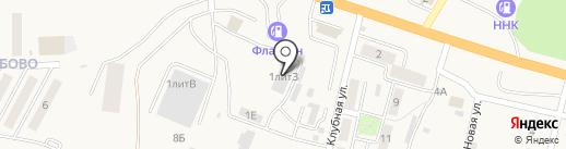 Фабрика русской мебели на карте Мирного