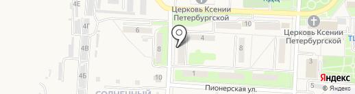 Отдел надзорной деятельности на карте Некрасовки