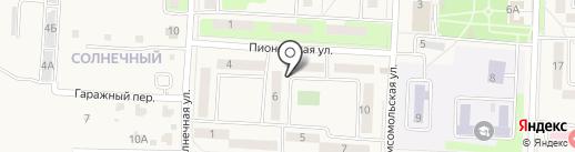 Киоск по продаже хлебобулочных изделий на карте Некрасовки