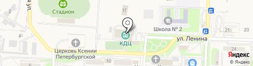 Культурно-досуговый центр на карте Некрасовки