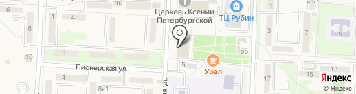Волна на карте Некрасовки