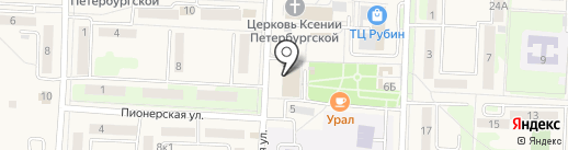 МегаФон на карте Некрасовки