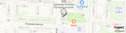 Судебный участок на карте Некрасовки