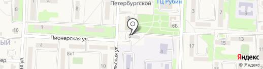Хабаровские тепловые сети на карте Некрасовки