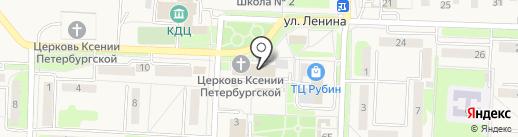 NPS на карте Некрасовки