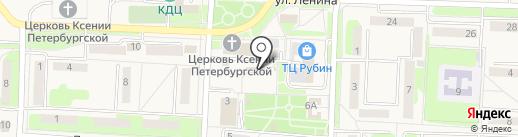 Магазин овощей и фруктов на карте Некрасовки