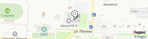 Средняя общеобразовательная школа №2 с. Некрасовка на карте Некрасовки