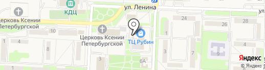 Исинга на карте Некрасовки