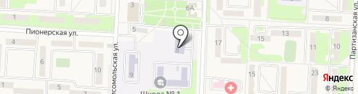 Станция юных техников на карте Некрасовки
