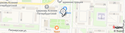 Магазин цветов на карте Некрасовки