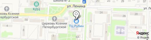 Магазин одежды на карте Некрасовки