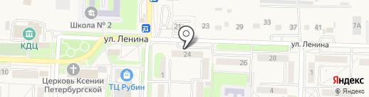 Парикмахерская на карте Некрасовки