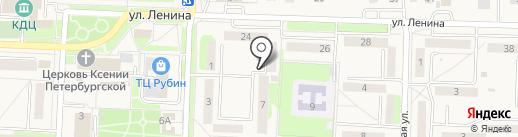 Магазин продуктов на карте Некрасовки