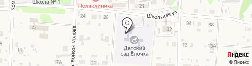 Детский сад с. Некрасовка на карте Некрасовки