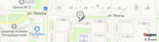 Домовые телекоммуникационные сети на карте Некрасовки