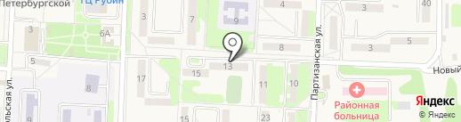 Паутина Телеком на карте Некрасовки
