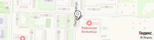 Калинка на карте Некрасовки