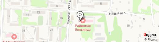 Хабаровская районная больница на карте Некрасовки