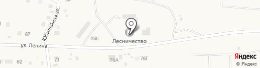 Хабаровское специализированное лесное хозяйство, КГАУ на карте Некрасовки