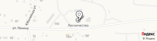 Хабаровское специализированное лесное хозяйство на карте Некрасовки