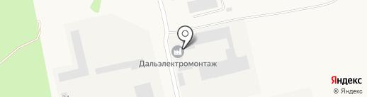 Амурское монтажное управление на карте Амурска