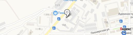 Амурвзрывпром на карте Амурска