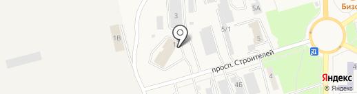 Элисса на карте Амурска