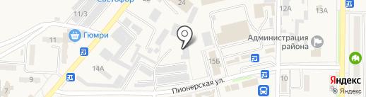 АЗС Сервис на карте Амурска