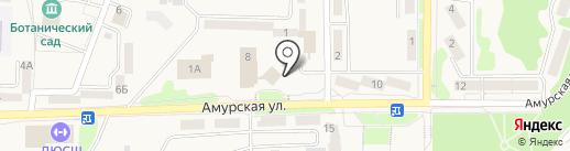Мои документы на карте Амурска
