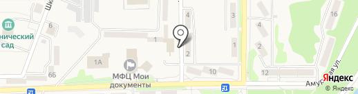 Сбербанк, ПАО на карте Амурска
