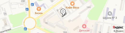 Филин на карте Амурска