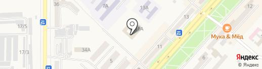 Межрайонный отдел вневедомственной охраны по г. Комсомольску-на-Амуре на карте Амурска