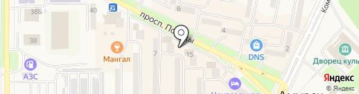 МТС, ПАО на карте Амурска