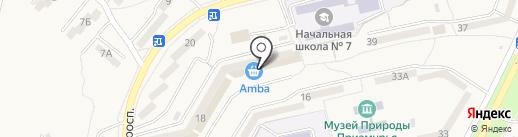 Банкомат, Сбербанк, ПАО на карте Амурска