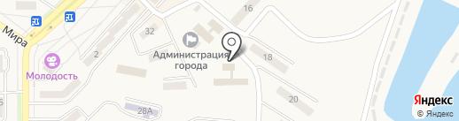 Управление пенсионного фонда РФ в Амурском районе на карте Амурска
