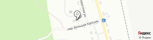 Хапсоль на карте Комсомольска-на-Амуре