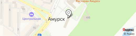 Отделение ГИБДД Отдела МВД России по Амурскому району на карте Амурска
