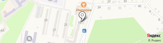 Есения на карте Амурска