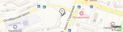 Нотариус Ларионова Г.М. на карте Амурска