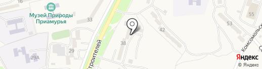 Жара на карте Амурска